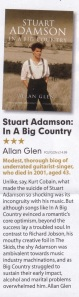 Review of Stuart Adamson - In a Big Country (MOJO)