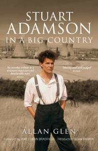 Stuart Adamson book - front cover